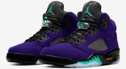 Violet inversé pour la Air Jordan 5