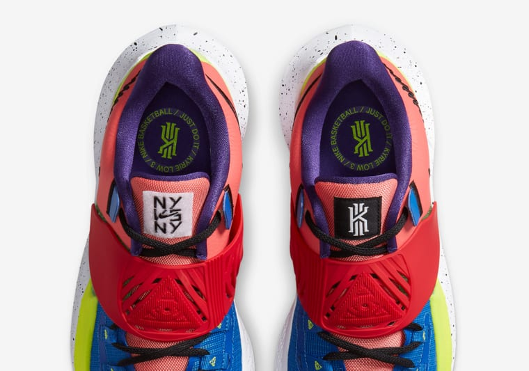La Nike Kyrie Low 3 aura aussi droit au traitement NY vs NY