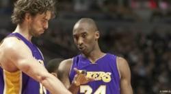 Kobe Bryant guide encore Pau Gasol depuis l'au-delà