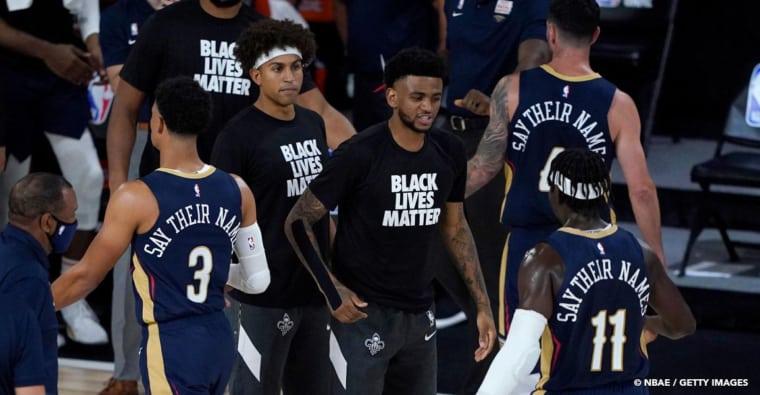 Freedom, Liberty, Enough : les messages des joueurs NBA sur leur maillot