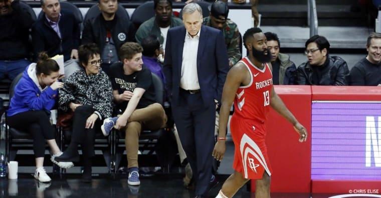 Mike D'Antoni et les Houston Rockets, c'est fini !