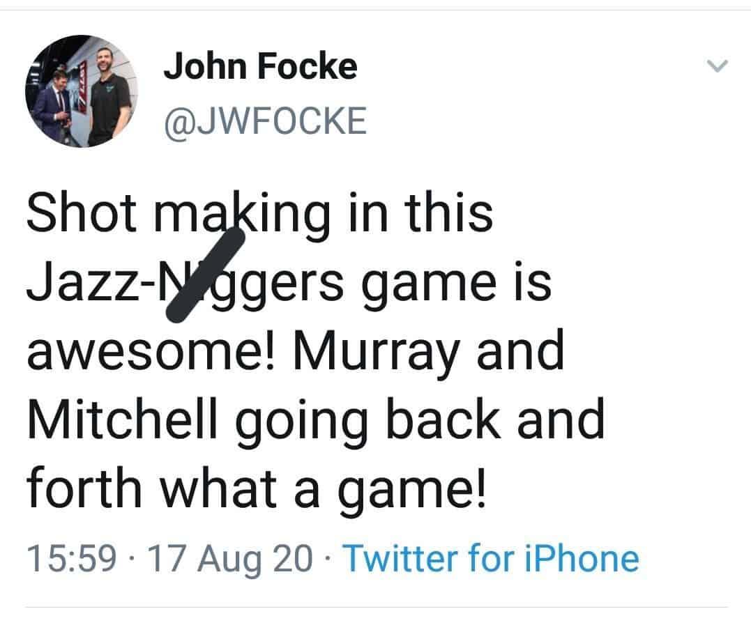 John Focke tweet