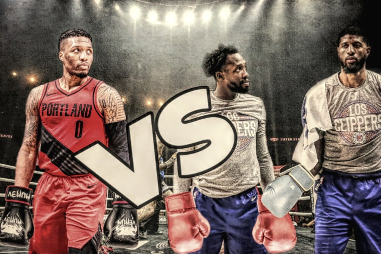 Damian Lillard vs les Clippers, let's get ready to rumble !