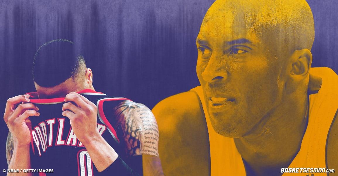 Le jour où Kobe a brutalisé Damian Lillard avec la bénédiction des arbitres
