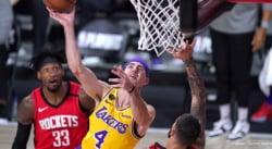 Alex Caruso, les Lakers peuvent déjà commencer à trembler…