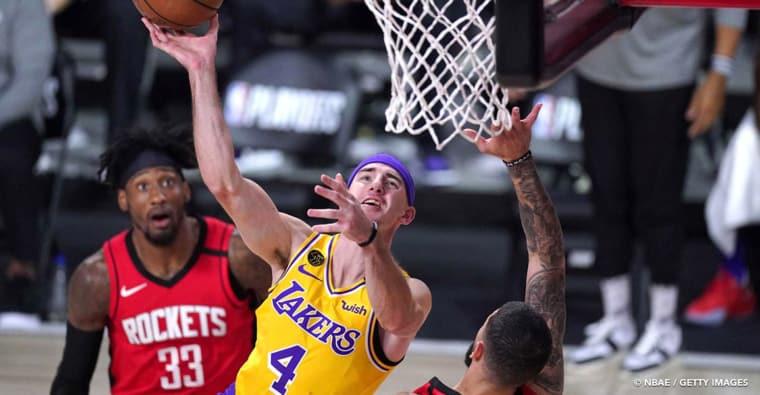 Alex Caruso était très inquiet pour les Lakers, puis LeBron James l'a apaisé…