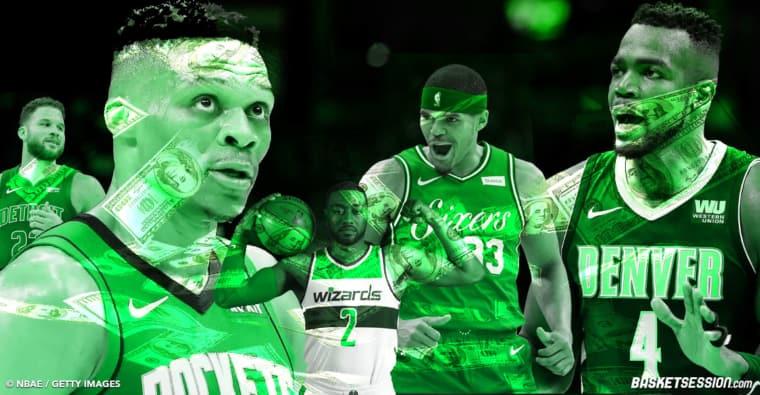 Ristournes, arnaques et stars : Les 20 plus gros salaires de la NBA