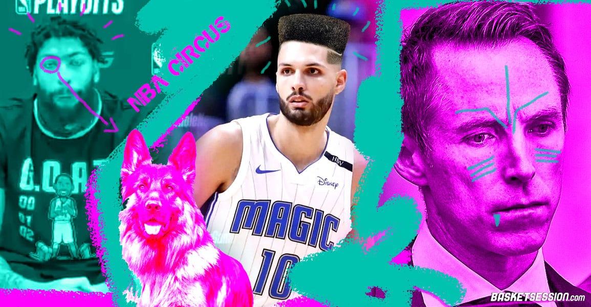 NBA CIRCUS : Fournier bientôt hirsute, Nash découpe Shaq, un chien en conf de presse
