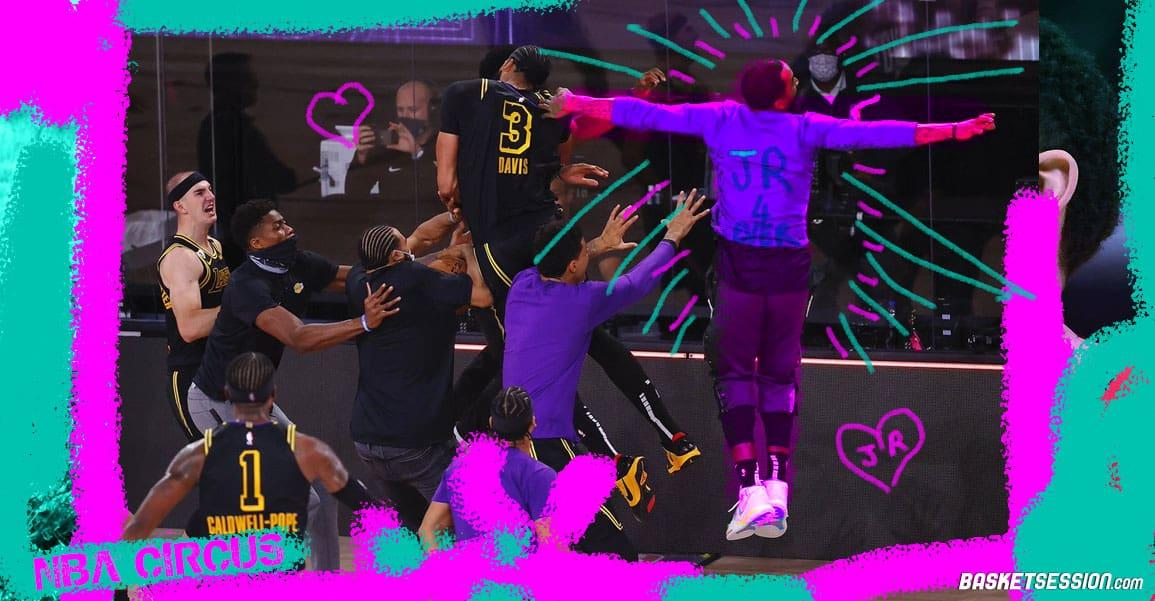 NBA CIRCUS : JR Smith réinvente le Air Check, Bronny dérape, Barkley se ridiculise