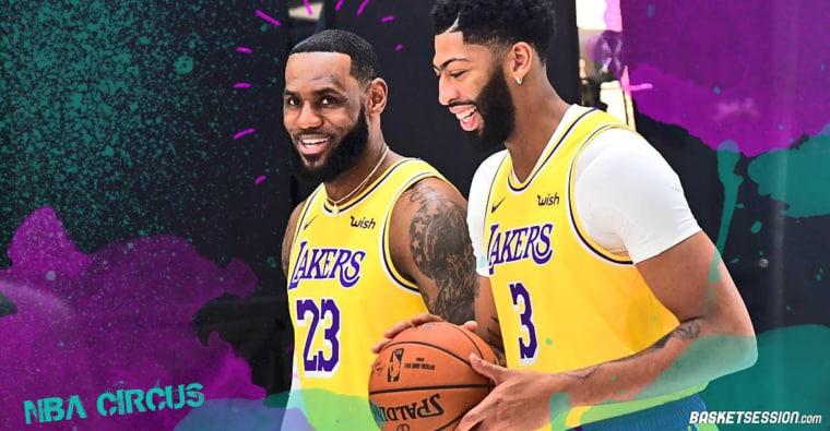 NBA CIRCUS : LeBron donne son secret pour décrypter l'humeur d'Anthony Davis