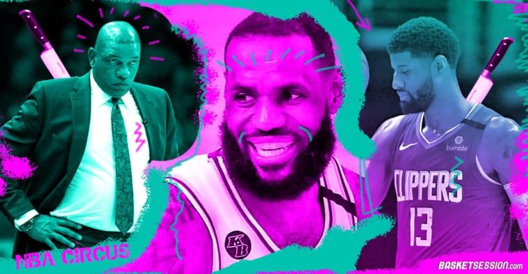 NBA CIRCUS : Doc Rivers trollé par Josh Smith, le Mercury tacle Paul George, LeBron bientôt président