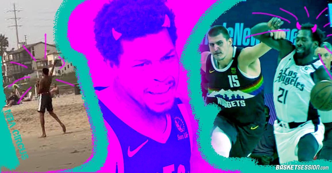 NBA CIRCUS : Lowry et Beverley rois du coup de vice, Kevin Durant roi de la playa