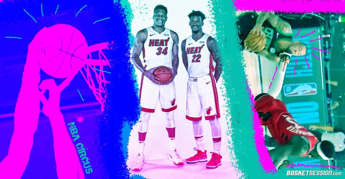 NBA CIRCUS : Le freak c'est hic, le doigt de Dieu, le pied de trop, le dessin qui fâche