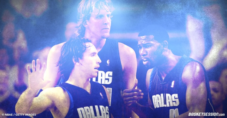 GOD : Dirk Nowitzki, Steve Nash et Mike Finley formaient un « Big Three » de rêve à Dallas