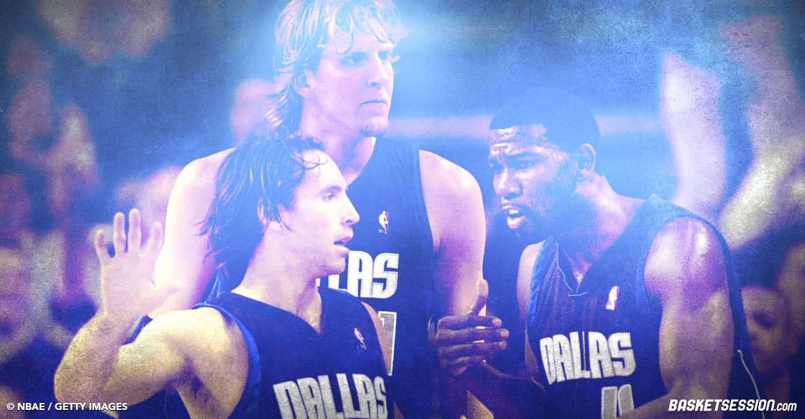 GOD : Dirk Nowitzki, Steve Nash et Mike Finley formaient un «Big Three» de rêve à Dallas