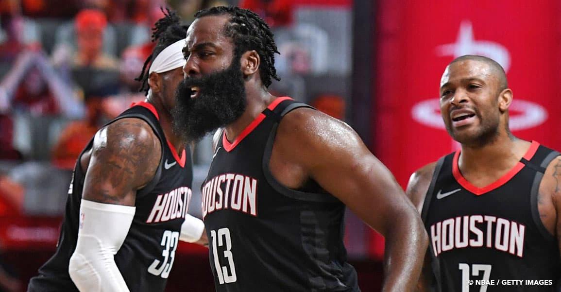 NBA James Harden Houston Rockets OKC