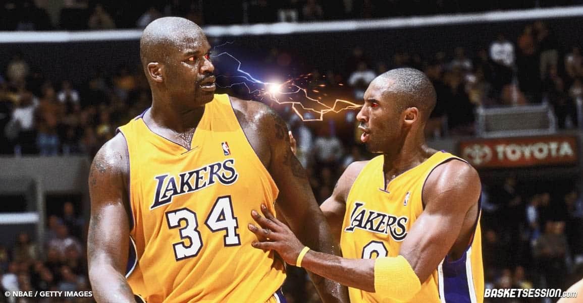 Nouveaux détails sur la bagarre culte entre Kobe et Shaq : «Il frappait comme s'il voulait le tuer !»