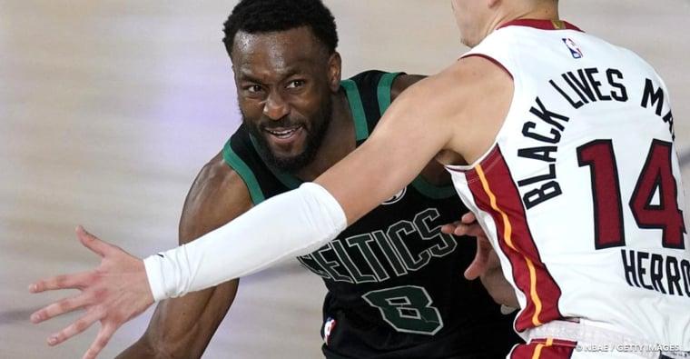 Les Celtics vont débuter la saison sans leur meneur Kemba Walker