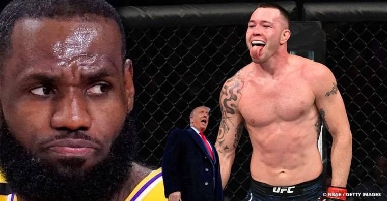LeBron James est «un immense lâche» selon le combattant UFC Covington