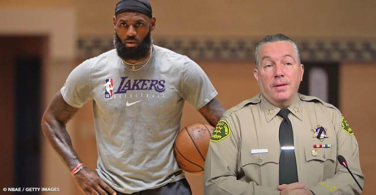 LeBron James répond intelligemment au fameux shérif et évite la polémique