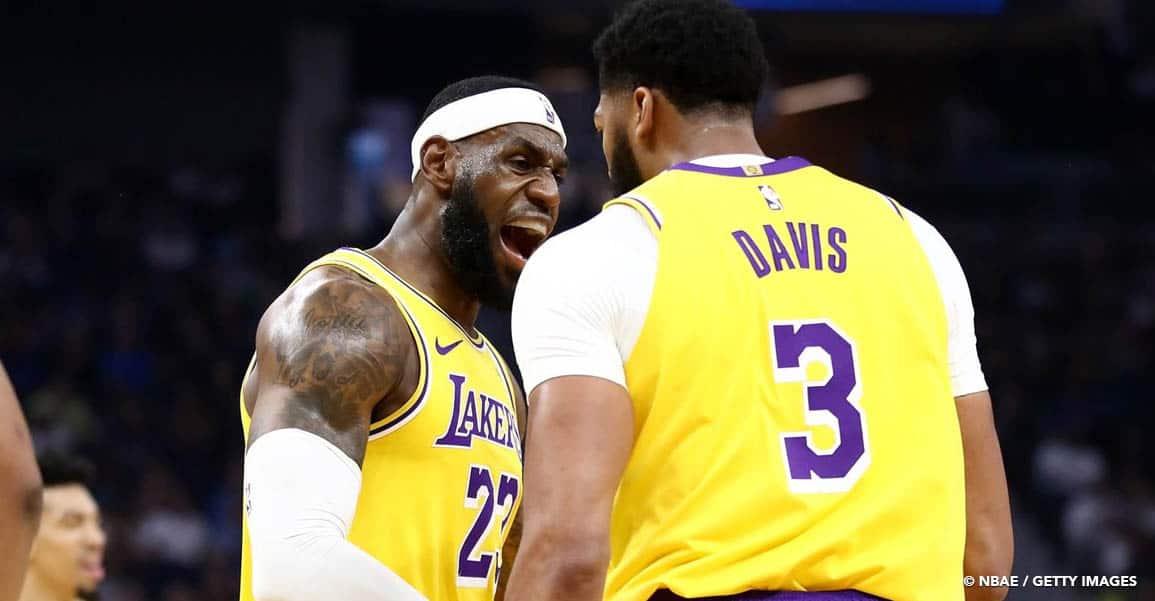 CQFR : les Lakers qualifiés pour les Finales NBA, LeBron James en patron !