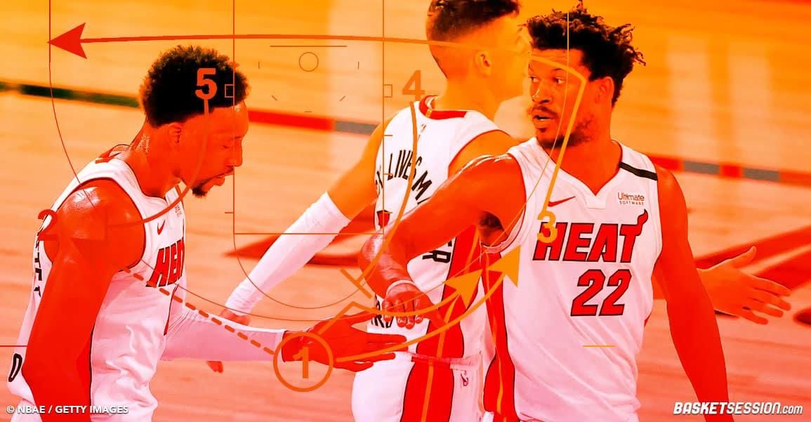 NBA MIAMI HEAT ZONE DEFENSE