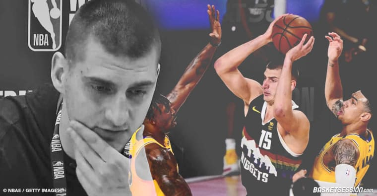 Ciblé, attaqué, provoqué, la déroute de Nikola Jokic fatale aux Nuggets
