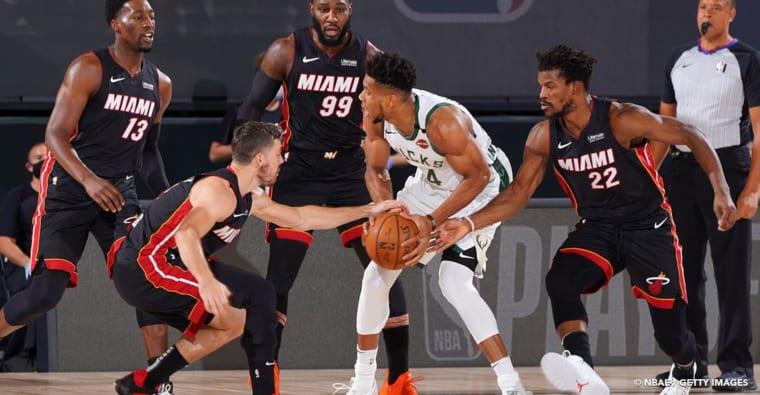 Giannis Antetokounmpo incertain pour le Game 4 contre le Heat !