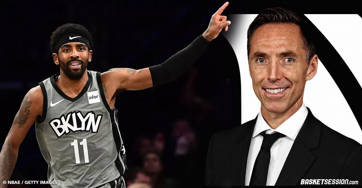 NBA steve nash kyrie irving Brooklyn nets