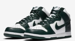 La Nike Dunk se met aux couleurs de Michigan State