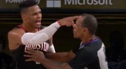 Russell Westbrook, une embrouille avec le frère de Rajon Rondo en plein match