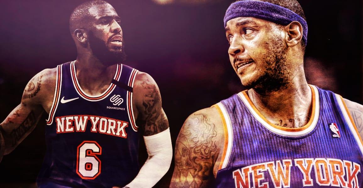 Carmelo Anthony & Chris Paul, le duo pour relancer les Knicks ?