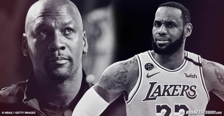 LeBron James ou Michael Jordan, qui a défié les équipes les plus coriaces en finales NBA ?