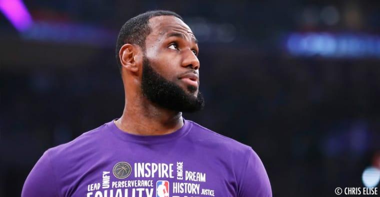 On sait pourquoi LeBron James est mécontent de reprendre la saison aussi tôt