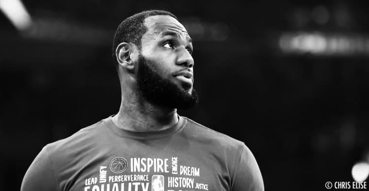 Le message émouvant de LeBron pour Kobe