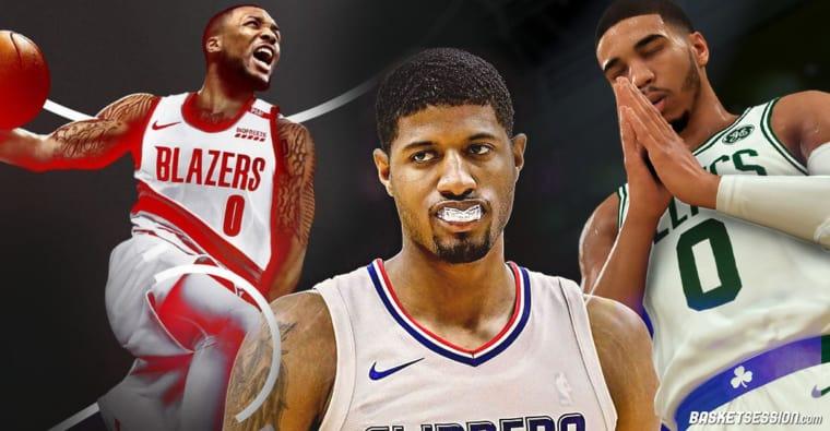 NBA 2K21 : toutes les notes et les réactions de Lillard, Tatum, Morant, PG…