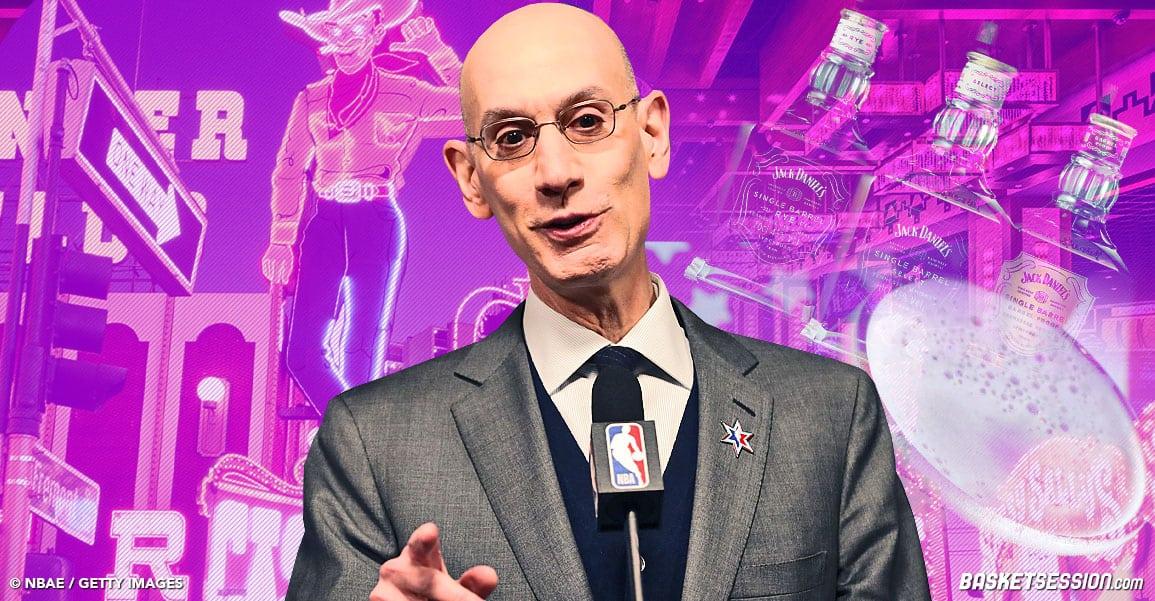 Des pubs pour l'alcool et les casinos sur les terrains NBA ?
