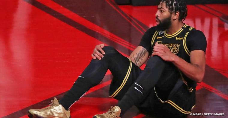 Anthony Davis est blessé, les Lakers n'auront pas leur star à 100% pour le game 6…
