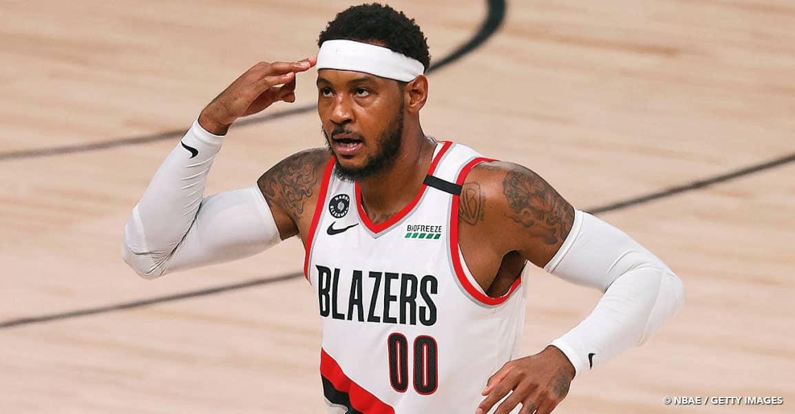 Carmelo Anthony reste fidèle aux Portland Trail Blazers !