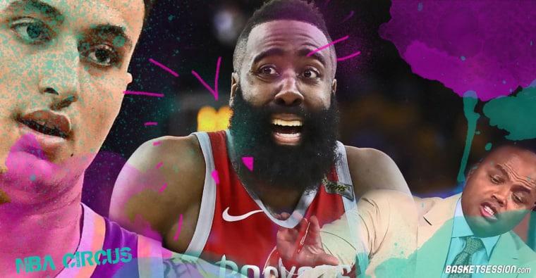 NBA CIRCUS : Harden est sauvé, Kuzma est foutu, Butler mouche Barkley