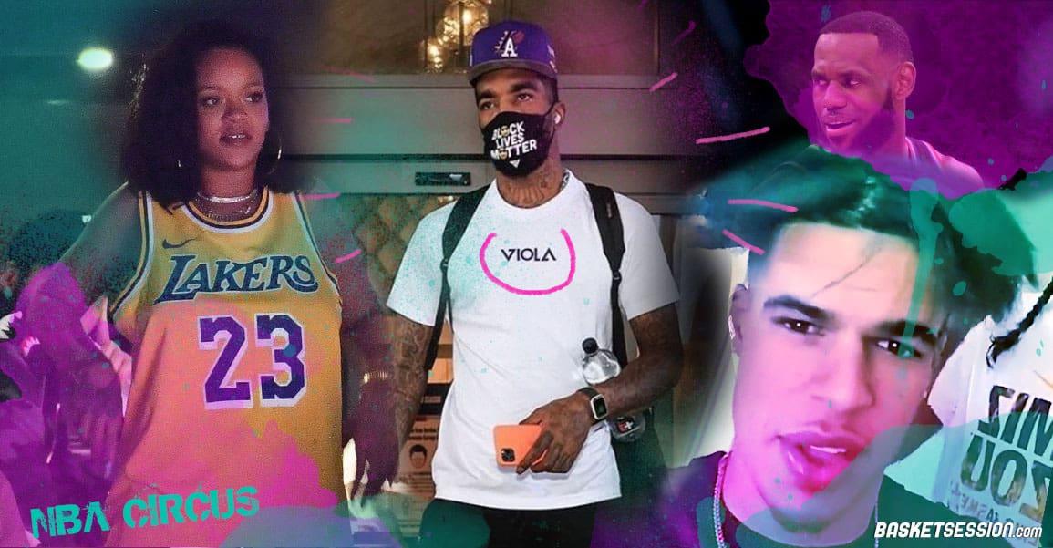 NBA CIRCUS : JR Smith est le roi de la weed, Rihanna ne lâche pas LeBron