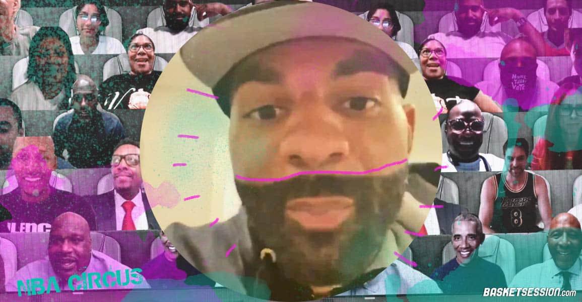 NBA CIRCUS : Dans les backstages des Finales NBA avec JR, Boozer, Obama, Doc…