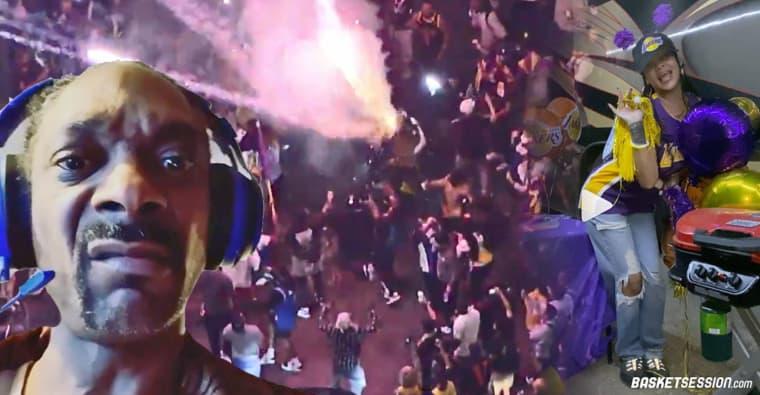 La NBA en bref : Rihanna, JR Smith, Snoop, Mark Jackson, 67 personnes arrêtées… gros vent de folie sur L.A.