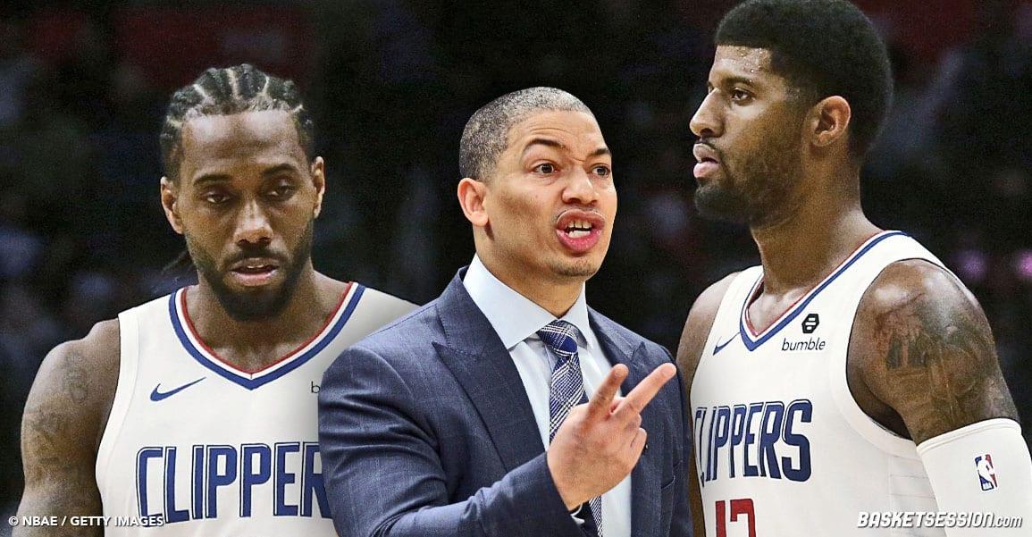 NBA CLIPPERS TYRONN LUE