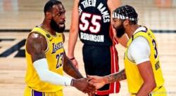 LeBron James et Anthony Davis font aussi fort que Kobe et Shaq !
