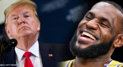 Le tacle de LeBron James à Donald Trump en plein débat