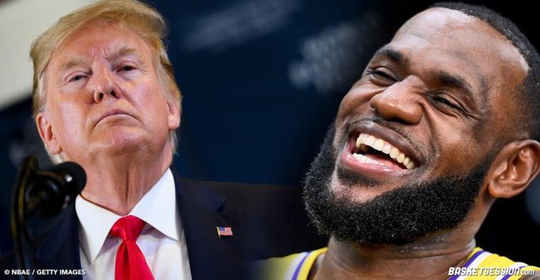 Le tacle de LeBron James à Donald Trump en plein débat