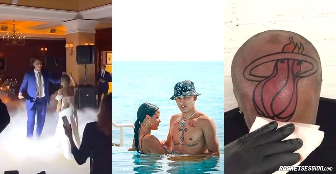En bref en NBA : tattoos et bikini, Tyler Herro est bien occupé, Jokic se marie et c'est pas joli