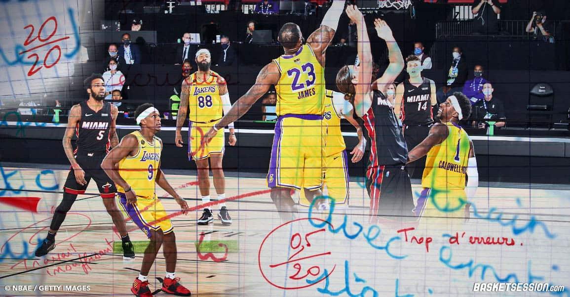 Lakers – Heat : Les notes du Game 2