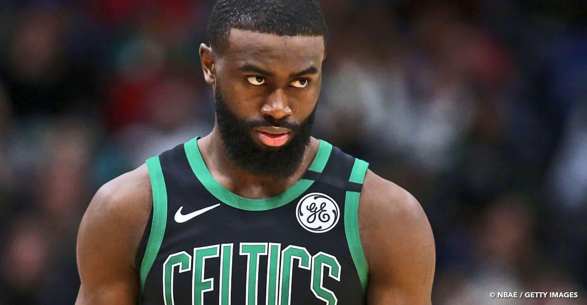 NBA JAYLEN BROWN BOSTON